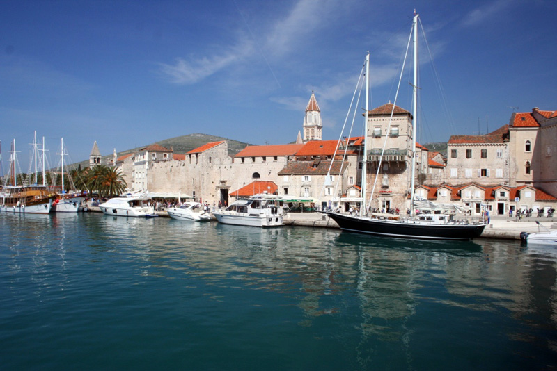 The Venetian is a short stroll from the promenade in Trogir